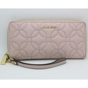 Michael Kors Quilted Floral Continental Wallet